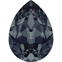 Swarovski Crystal Pear Fancy Stone4320 MM 6,0X 4,0 GRAPHITE F
