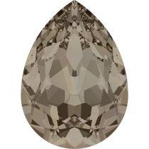 Swarovski Crystal Pear Fancy Stone4320 MM 8,0X 6,0 GREIGE F