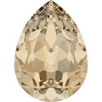 Swarovski Crystal Pear Fancy Stone4320 MM 6,0X 4,0 LIGHT SILK F