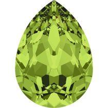 Swarovski Crystal Pear Fancy Stone4320 MM 8,0X 6,0 OLIVINE F