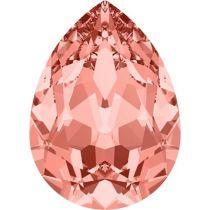 Swarovski Crystal Pear Fancy Stone4320 MM 6,0X 4,0 ROSE PEACH F
