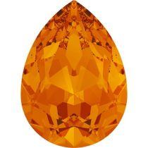 Swarovski Crystal Pear Fancy Stone4320 MM 8,0X 6,0 TANGERINE F