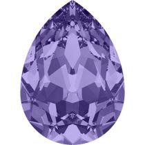 Swarovski Crystal Pear Fancy Stone4320 MM 8,0X 6,0 TANZANITE F
