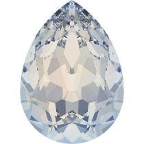 Swarovski Crystal Pear Fancy Stone4320 MM 8,0X 6,0 WHITE OPAL F