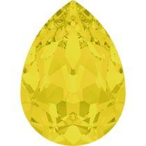 Swarovski Crystal Pear Fancy Stone4320 MM 14,0X 10,0 YELLOW OPAL F