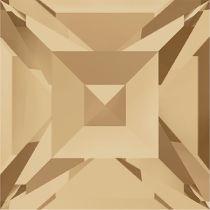 Swarovski Crystal Fancy Stone Xilion Square4428 MM 4,0 CRYSTAL GOLDEN SHADOW F
