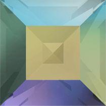 Swarovski Crystal Fancy Stone Xilion Square4428 MM 4,0 CRYSTAL PARADISE SHINE F