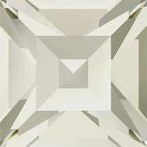 Swarovski Crystal Fancy Stone Xilion Square4428 MM 4,0 CRYSTAL SILVER SHADE F