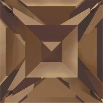 Swarovski Crystal Fancy Stone Xilion Square4428 MM 4,0 SMOKED TOPAZ F