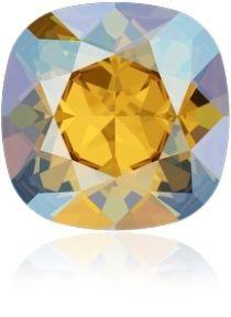 Swarovski Crystal Fancy Stone Cushion Square 4470 MM 12,0 LIGHT TOPAZ SHIMMER F