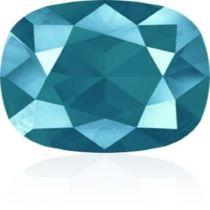 Swarovski Crystal Fancy Stone Cushion Square 4470 MM 12,0 CRYSTAL AZURE BLUE