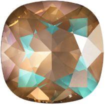 Swarovski Crystal Fancy Stone Cushion Square 4470 MM 12,0 CRYSTAL CAPPUCCINO DELITE