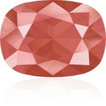 Swarovski Crystal Fancy Stone Cushion Square 4470 MM 12,0 CRYSTAL LIGHT CORAL