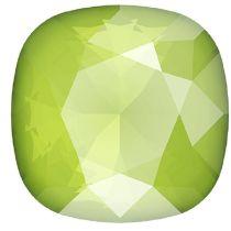 Swarovski Crystal Fancy Stone Cushion Square 4470 MM 12,0 CRYSTAL LIME