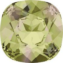 Swarovski Crystal Fancy Stone Cushion Square 4470 MM 12,0 CRYSTAL LUMINGREEN F
