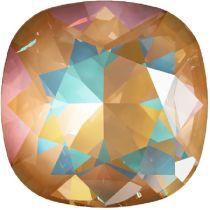 Swarovski Crystal Fancy Stone Cushion Square 4470 MM 12,0 CRYSTAL OCHRE DELITE