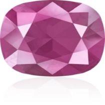 Swarovski Crystal Fancy Stone Cushion Square 4470 MM 12,0 CRYSTAL PEONY PINK