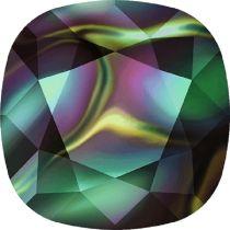 Swarovski Crystal Fancy Stone Cushion Square 4470 MM 12,0 CRYSTAL RAINBOW DARK F
