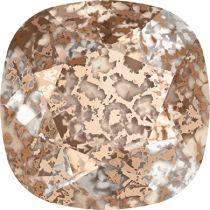 Swarovski Crystal Fancy Stone Cushion Square 4470 MM 12,0 CRYSTAL ROSE-PATINA F
