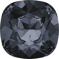 Swarovski Crystal Fancy Stone Cushion Square 4470 MM 8,0 CRYSTAL SILVER NIGHT