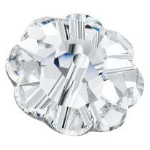 Preciosa® MC Loch Flower Beads Crystal