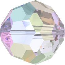Swarovski Crystal 5000 Round Bead - 8mm- Crystal AB FC