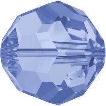 Swarovski Crystal 5000 Round Bead -8mm - Light Sapphire