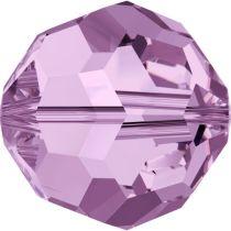 Swarovski Crystal 5000 Round Bead -8mm - Light Amethyst