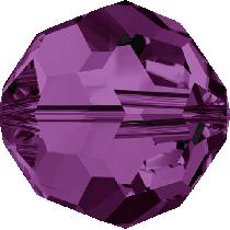 Swarovski Crystal Round (5000) Bead-10mm -Amethyst