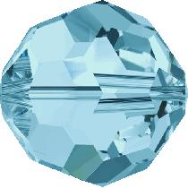Swarovski Crystal Round (5000) Bead-10mm -Aqua