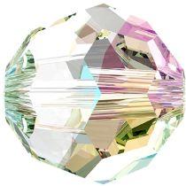 Swarovski Crystal 5000 Round -8mm- Crystal Shimmer