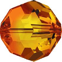 Swarovski Round- 8mm Fire Opal