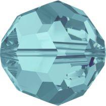 Swarovski Crystal Round (5000) Bead-10mm -Lt. Turquoise