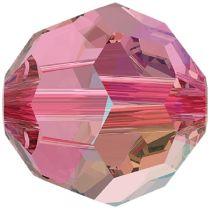 Swarovski Crystal 5000 Round -8mm- Rose Shimmer