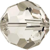 Swarovski Round(5000)- 8mm- Crystal Silver Shade
