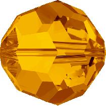 Swarovski Round (5000)-6mm -Crystal Tangerine