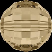 Swarovski Round Chessboard 5005 Bead- 12mm -Golden Shadow