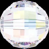 Swarovski Round Chessboard 5005 Bead- 8mm -Crystal AB