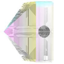 Swarovski Crystal 5061 Square Spike Bead (1 Hole) 5.5mm-Crystal AB