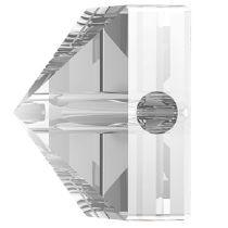 Swarovski Crystal 5061 Square Spike Bead (1 Hole) 5.5mm-Crystal
