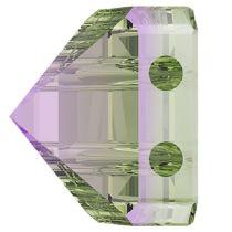 Swarovski Crystal 5061 Square Spike Bead (2 Hole) 7.5mm - Paradise Shine