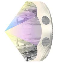 Swarovski Crystal 5062 Round  Spike Bead (2 Hole) 7.5mm-Crystal AB