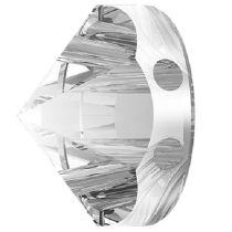 Swarovski Crystal 5062 Round  Spike Bead (2 Hole) 7.5mm-Crystal