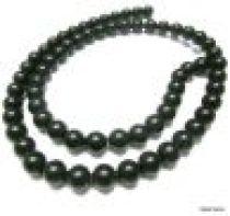 Black Onyx (dyed) Matt Plain R-10mm -16