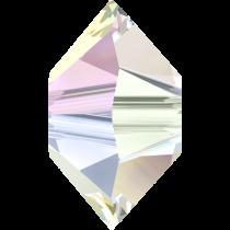 Swarovski Saucer (5305) Bead -6mm Crystal AB