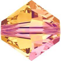 Swarovski  Bicone 5328-6mm-Crystal Astral Pink