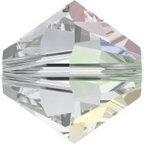 Swarovski Crystal Bicone 5328 - 3mm -Crystal  AB Factory Pack