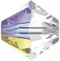 Swarovski  Bicone 5328- 6 mm - Crystal Shimmer