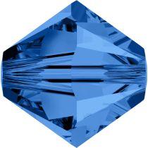 Swarovski Crystal Bicone 5328-4mm-Capri Blue