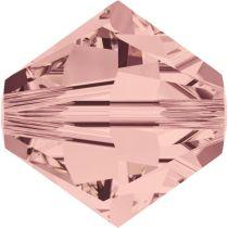 Swarovski Crystal Bicone 5328-4mm-Factory Pack- Blush Rose